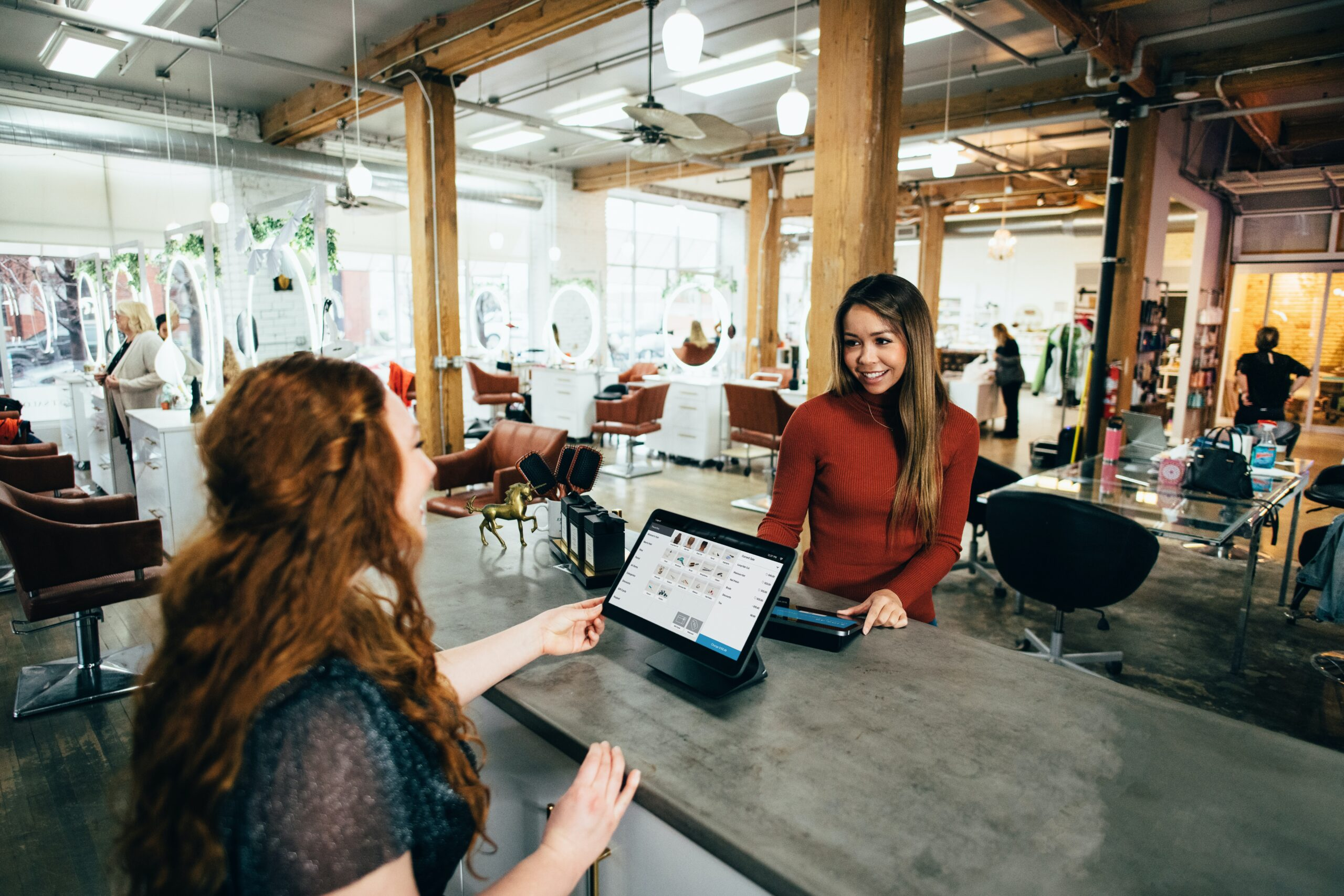 Small Business Image of Women in Store