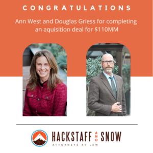 Edited Hackstaff, Snow, Atkinson & Griess, LLC Successfully Represents RIM Bio in Sale to Avantor